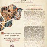 Presentazione ufficiale dei bozzetti del Carro Trionfale 2020
